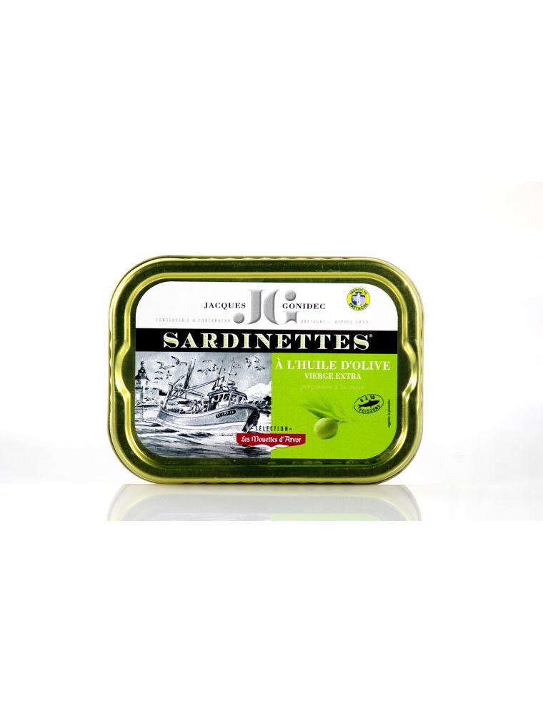 Sardinettes préparées à l'ancienne