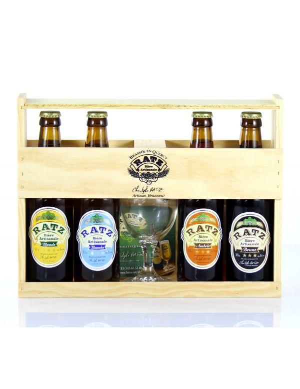 Coffret Cadeau Bières Artisanales