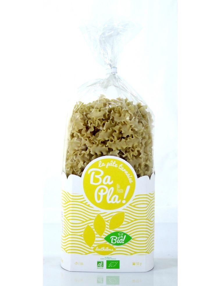 """Pâtes artisanales Bio produit de la ferme """"denthelous"""""""