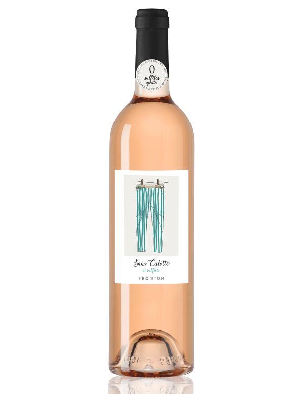 Vin rosé sans sulfites