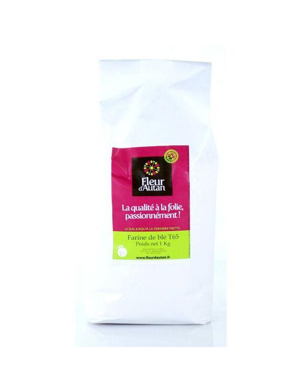 Farine de blé T 65 pour pain 1 kg