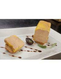 Buchette de foie gras mi-cuit