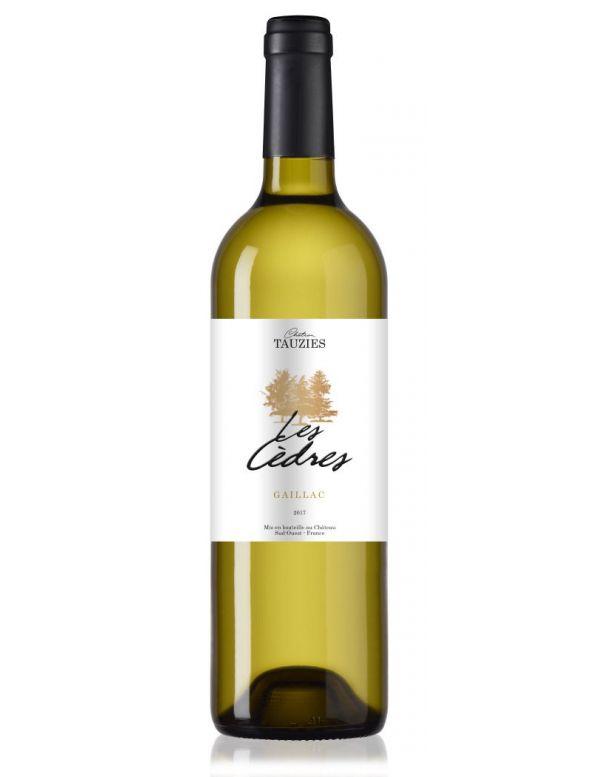 "Vin Blanc du Château Tauziès ""Les Cèdres"""