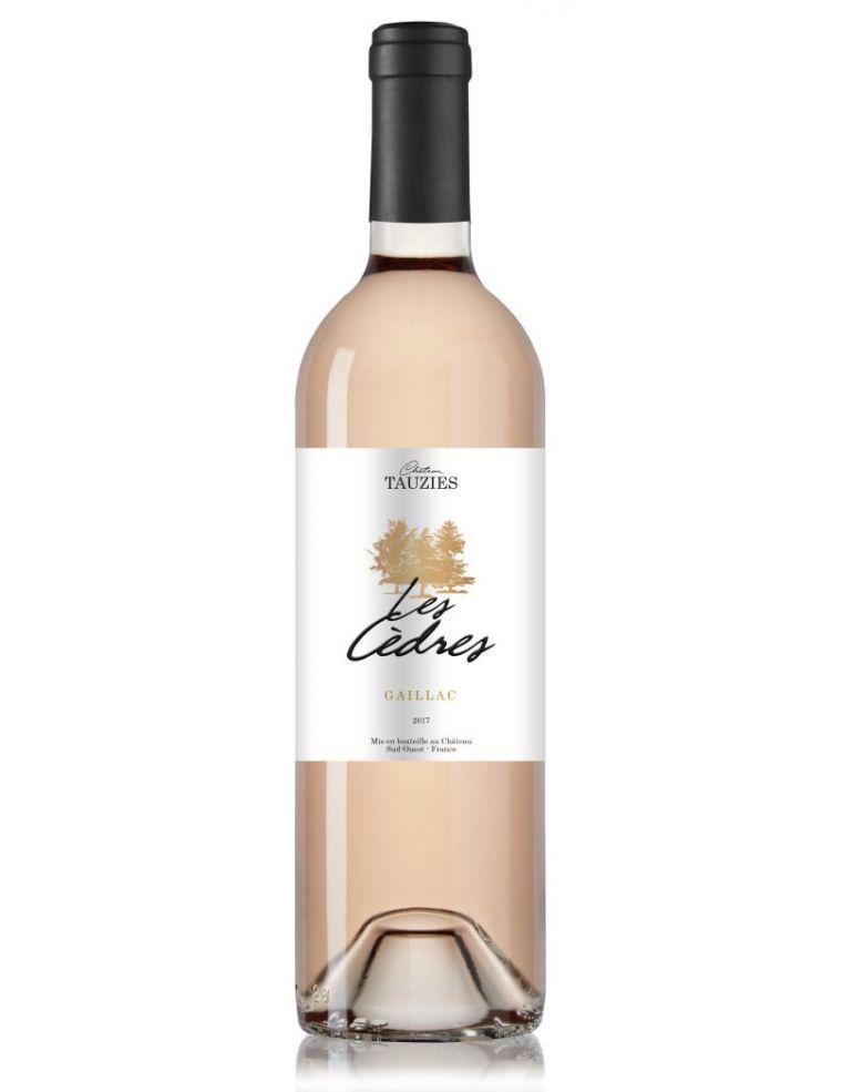 Vin Rosé Château Tauziès Les Cèdres