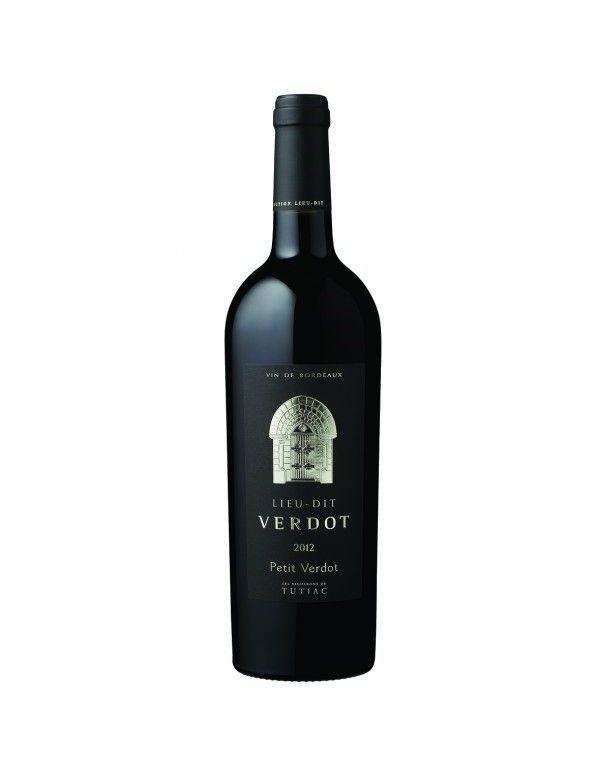 Vin rouge Lieu-Dit Verdot vin de Bordeaux