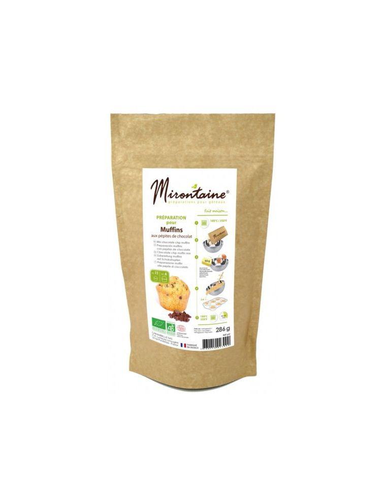 Préparation Muffin Bio aux pépites de Chocolat