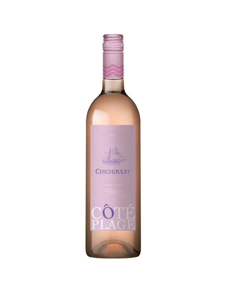 Vin Rosé IGP Pays d'Oc - Coté Plage