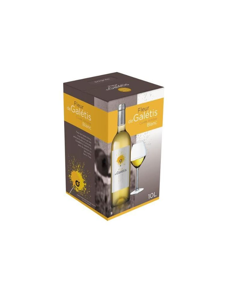 Bag In Box vin blanc 10 Litres - IGP Pays d'Hérault