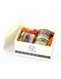 Coffret cadeau autour du foie gras