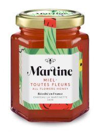 Miel toutes fleurs récolté en France