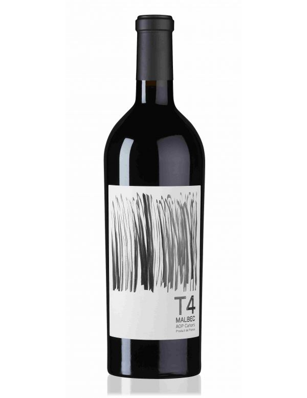 T4 Vin rouge avec etui - Malbec AOP Cahors