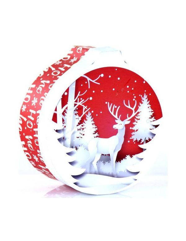 Boule de Noël garnie de produits régionaux   achat / vente