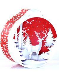 Boule de Noël surprise