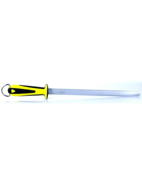 fusil à aiguiser professionnel fischer mèche ovale 30cm