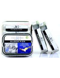 Sardines en boite peche durable