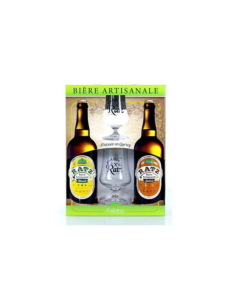 Bières artisanales en Coffret Cadeau