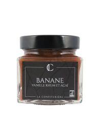 Confiture Bio Banane Vanille Rhum et Açaï - La Confiturière