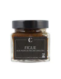 Confiture de Figue aux noix de Pécan grillées - La Confiturière