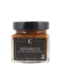 Confiture de Mirabelle au Miel et Pignon de Pin - La Confiturière