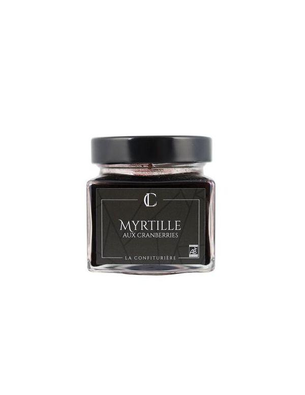 Confiture de Myrtilles Bio aux Cranberries - La Confiturière
