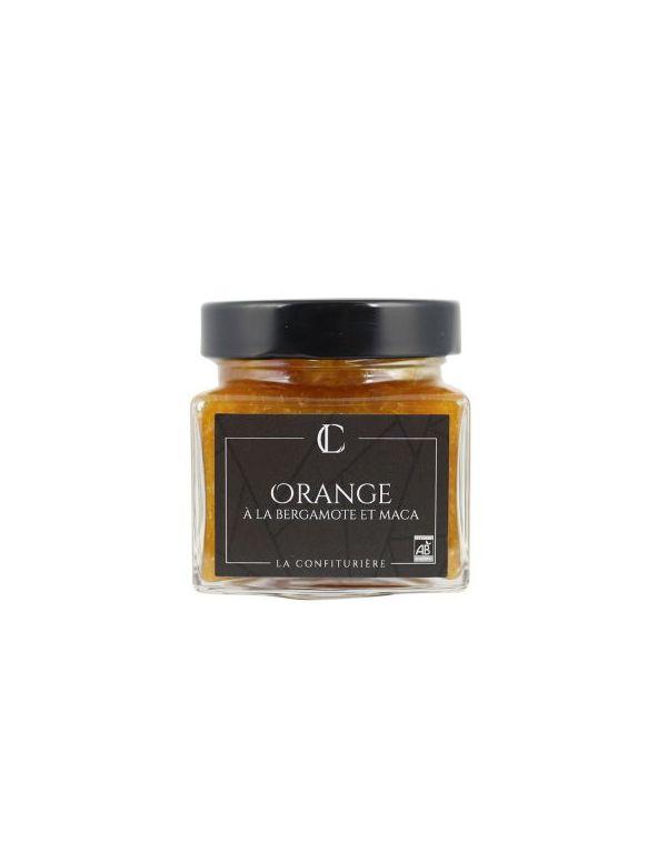 Confiture d'Orange Bio à la Bergamote et Maca - La Confiturière