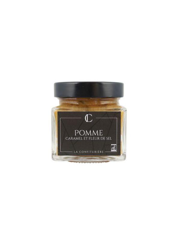 Confiture Bio Pomme Caramel et Fleur de Sel - La Confiturière