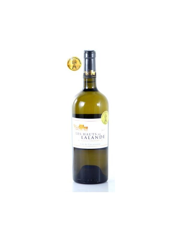 Vin Blanc IGP Cité de Carcassonne - Les Hauts de Lalande