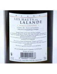 Étiquette Vin Blanc médaillé or
