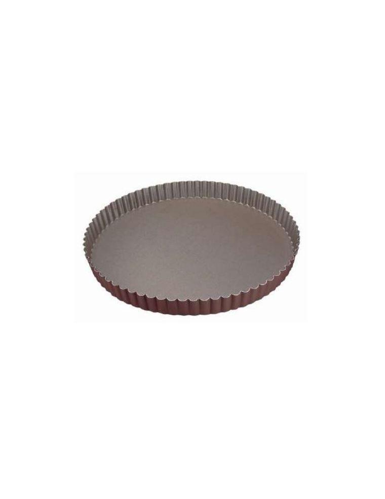 Tourtière Ronde Cannelée 28 cm - Gobel