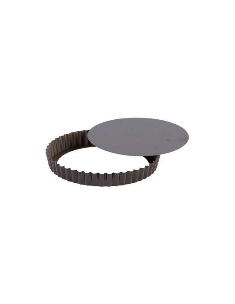 Tourtière Ronde à fond mobile 28 cm - Gobel