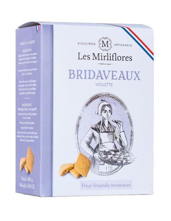 Bridaveaux - Biscuits sablés à la violette - Les Mirliflores