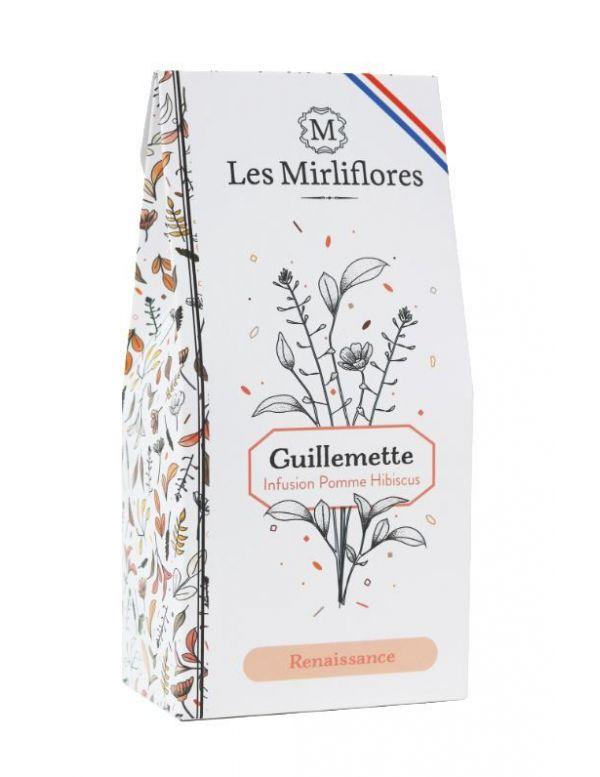 Guillemette - Infusion à la Pomme et à l'Hibiscus - Les Mirliflores