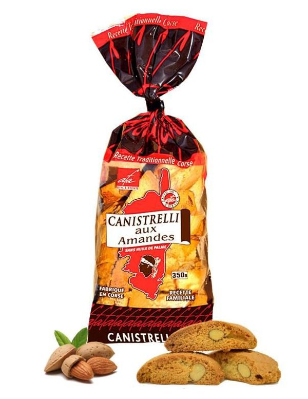 Canistrelli Tradition aux amandes