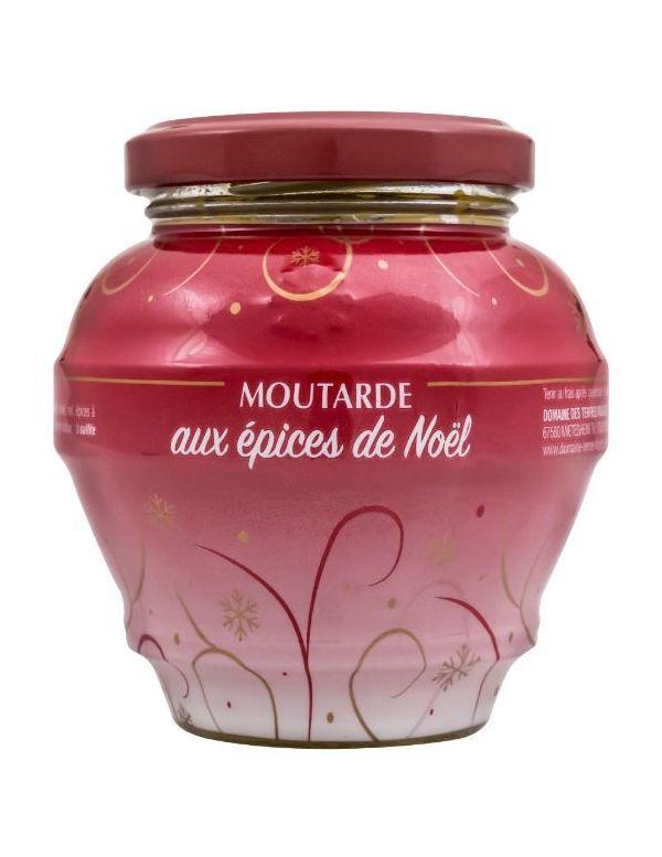 Moutarde aux épices de noël