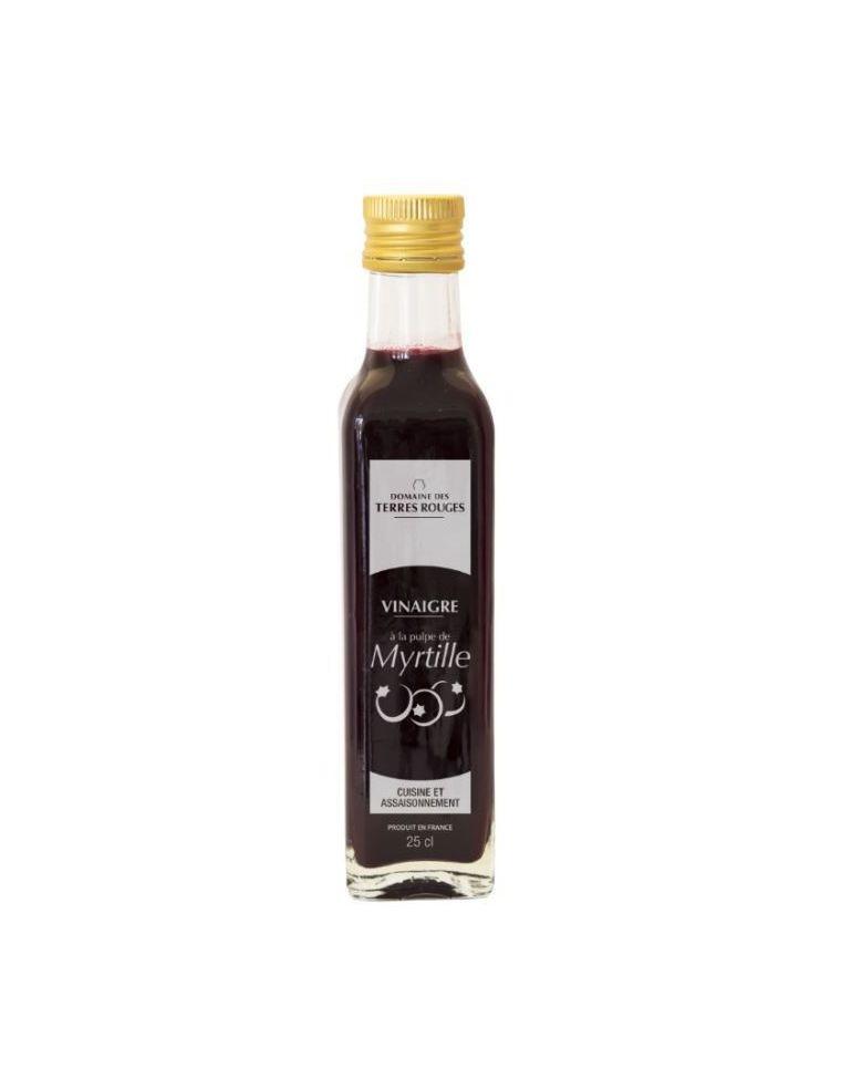 Vinaigre à la pulpe de myrtille