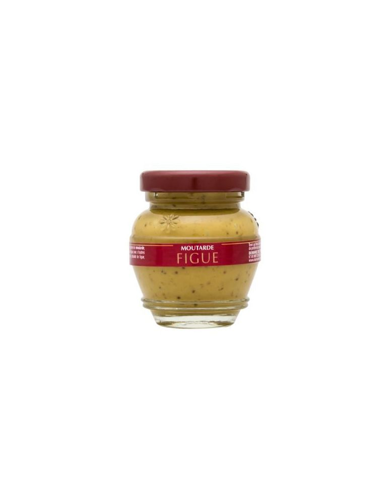 Moutarde à la figue, pot de 55 g