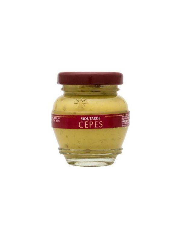 Moutarde aux cèpes, pot de 55 g