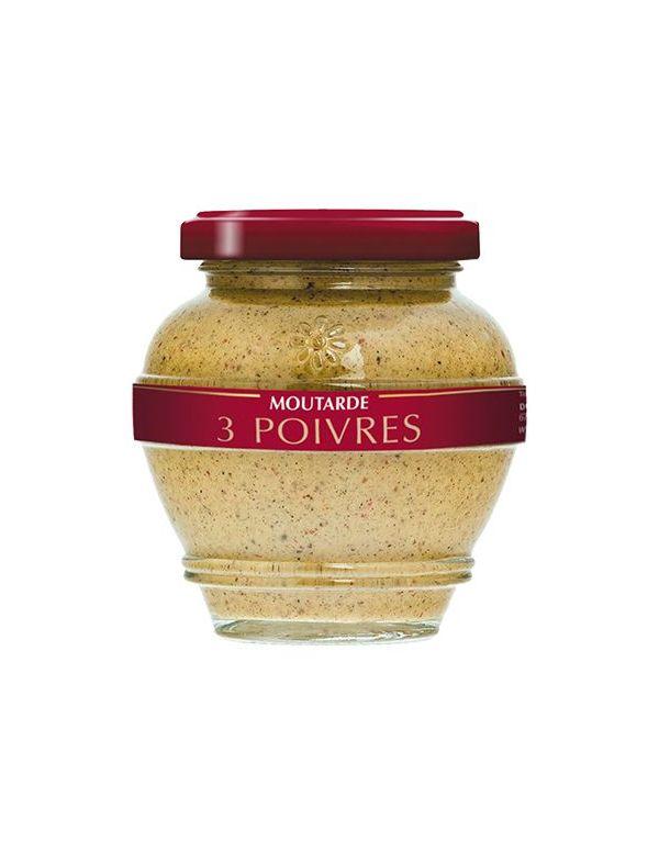 Moutarde 3 poivres