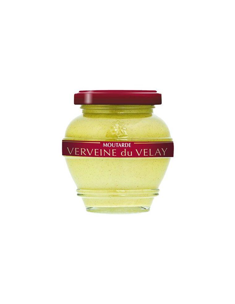 Moutarde à la verveine du velay, pot de 200 g