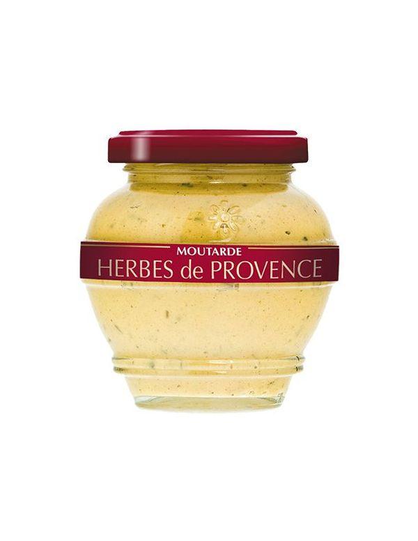 Moutarde aux herbes de Provence, pot de 200 g