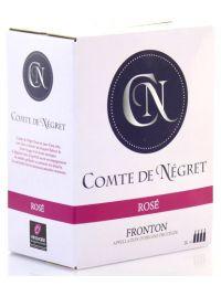BIB 3L Comte de Négret AOP Fronton Rosé