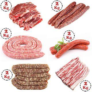 Colis Barbecue 12 kg de viande Origine France à griller
