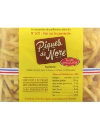 valeurs nutritionnelles mini frites apéro