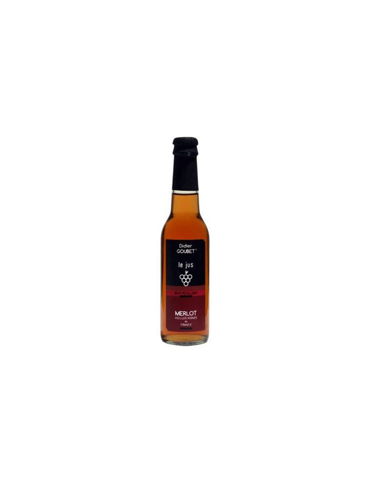 Merlot Bio Rosé Pétillant sans alcool