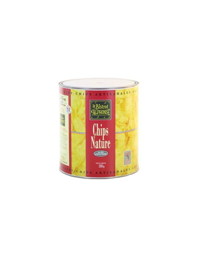 Seau de Chips artisanales au sel d'Occitanie - Chipsim