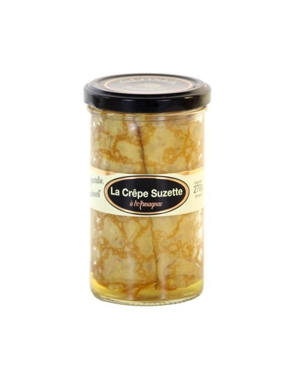 Crêpes Suzette à l'Armagnac