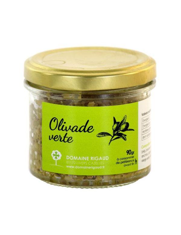 Tapenade artisanale aux olives vertes