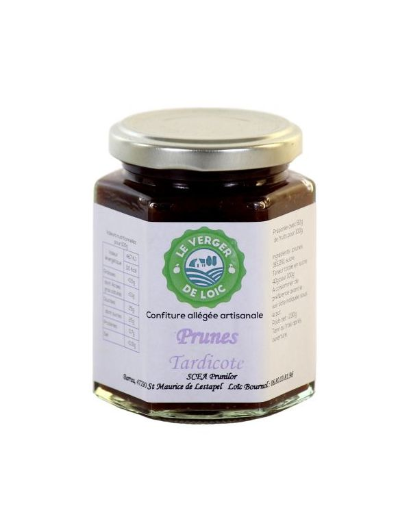 confiture de prunes allégée