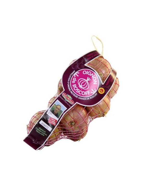 Oignon de Roscoff Tresse de 1 kg