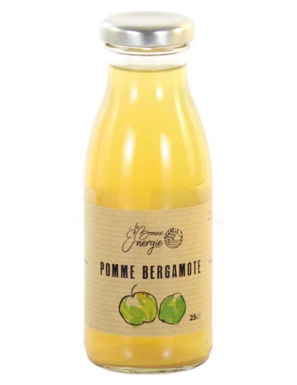 Jus de Pomme Bergamote Bio - La Bonne Énergie
